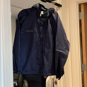 Men's Columbia windbreaker